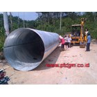 Corrugated steel pipe Armco Culvert Type Nestable Flange