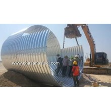 Corrugated Steel Pipe Armco type Multi Plate Pipe