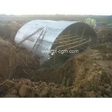 Corrugated Steel Pipe Armco Type Multi Plate Arche