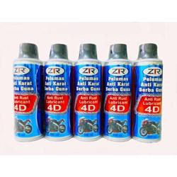 Pelumas Antikarat 4D 300ml (berfungsi sbg penetrating oil)