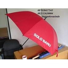 Promotional golf umbrellas Red