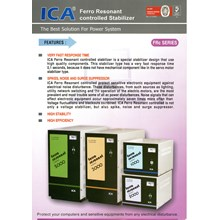 Ferro Resonant Controlled Stabilizer Brand Ica