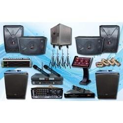 Paket Sound System Alat Karaoke Auderpro 1C Mixer Amplifier Speaker Subwoofer