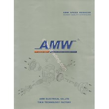 Worm Gear Speeed Reducer Amw