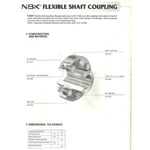 Flexible Shaft Coupling Nbk