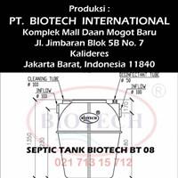 Jual Septic Tank Biotech BT 08