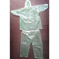 Jual Jas Hujan Plastik Setelan - Baju Plastik Dan Celana Plastik - Emergency - Urgent Keperluan