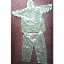 Jas Hujan Plastik Setelan - Baju Plastik Dan Celana Plastik - Emergency - Urgent Keperluan