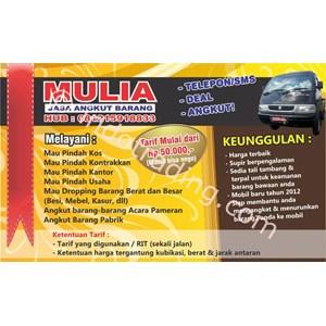 Mulia Jasa Angkut Barang By CV. Mulia Angkut Barang