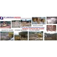 Jual Material Alam Pasir Batu Sirtu Split Limestone