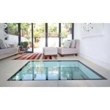 Kaca Lantai atau Floor Glass