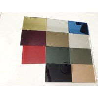 Special glass mirror colour