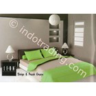 Bed Cover & Bed Sheet Brand Leon Beige & Fresh Green