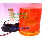 Jual Lampu Rotary LED 6 Inch Kuning 12V