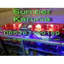 Lightbar Rotator Ambulance Merah-Merah 12V