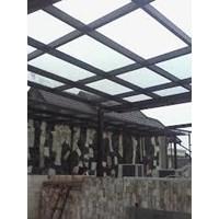 Jasa Pemasangan Atap Kanopi Kaca Harga Murah