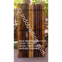 Bamboo Fence Hitam Dan Gold Tipe G10
