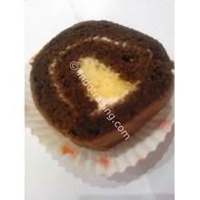 Kue Gulung Coklat
