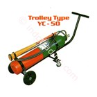 Sell Yamato Carbon Dioxide Fire Extinguisher On Wheel Carrying