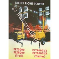 Jual Diesel Light Tower Firman Tipe Flt3000