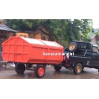 Sell garbage container crane
