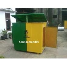 tong sampah fiberglass 1500 liter