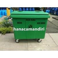 Jual Tempat Sampah Fiberglass 660 Liter