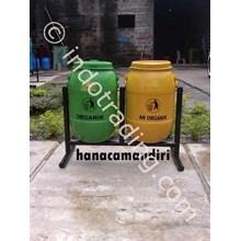 Tempat Sampah Drum Plastik