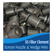 Screen Nozzle & Wedge Wire Filter Element SS