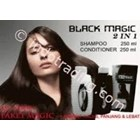 Shampoo Black Magic Kemiri 2In1