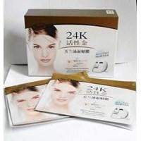 Jual Masker Wajah Tissue 24K