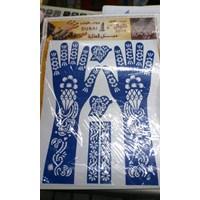 Jual Cetakan Tato Henna