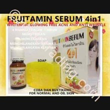 Serum+Sabun Fruitamin 4In1