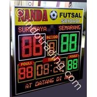 Jual Papan Score Futsal Herari Model 6