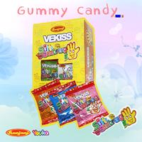 Jual Permen Vekiss Gambreng Gummy Candy