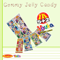 Jual Permen Youka 5+2 Gummy Candy