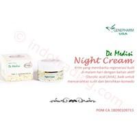 Night Cream (Krim Malam) De Medisi Skin Care