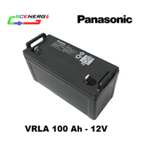Jual Battery PANASONIC VRLA 100 Ah - 12V