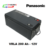 Jual Battery PANASONIC VRLA 200 Ah - 12V