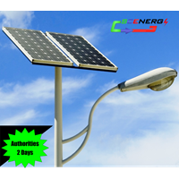 Jual PJU Tenaga Surya 70 Watt - 220 VAC - 9M (P Series)