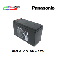 Jual Battery PANASONIC VRLA 7.2 Ah - 12V