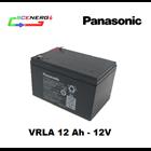 Jual Battery PANASONIC VRLA 12 Ah - 12V