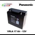 Jual Battery PANASONIC VRLA 17 Ah - 12V