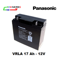 Jual Battery PANASONIC VRLA 17 Ah - 12V
