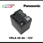 Jual Battery PANASONIC VRLA 28 Ah - 12V