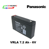 Jual Battery PANASONIC VRLA 7.2 Ah - 6V