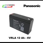 Jual Battery PANASONIC VRLA 12 Ah - 6V