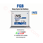 (NSAG) Battery VRLA  Gel 12 V - 200 Ah