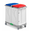 ALPHA 7103 Waste Collection Trolley 2x150 Liter