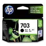 CATRIDGE PRINTER HP Deskjet 703 Black Ink Cartridge